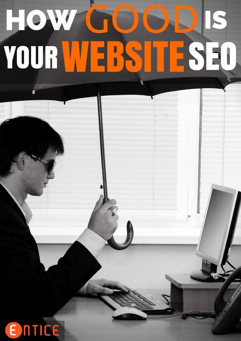 How goods is your website seo?