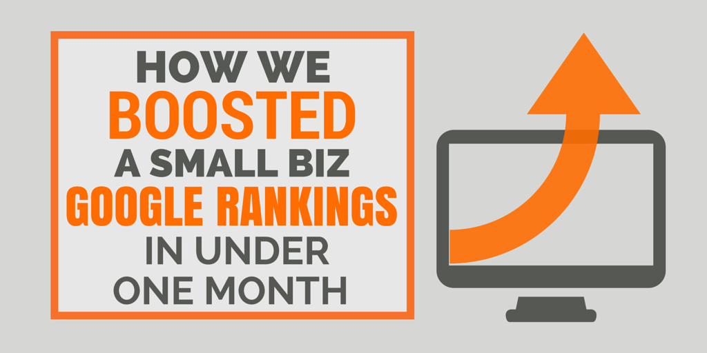 How We Boosted Their Google Rankings in Under One Month