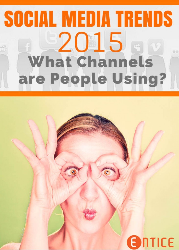 Social Media Trends 2015 - What Channels are People Using?
