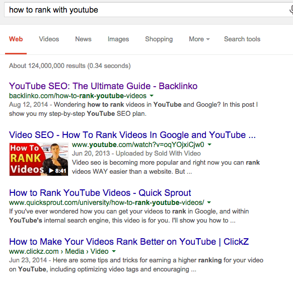 How To Rank Youtube On Google