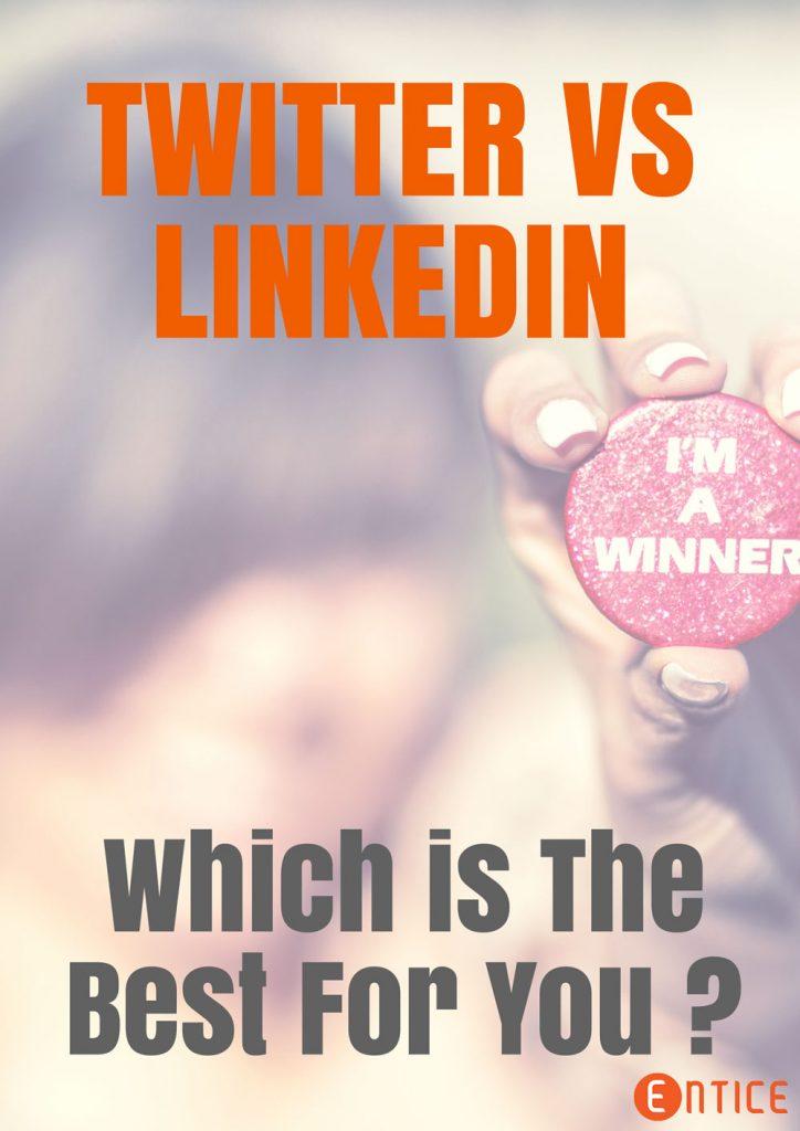 LinkedIn Vs Twitter
